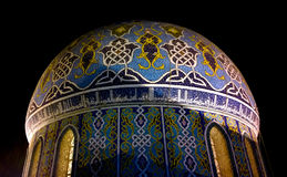 Koepel Fardous Mosque Stock Afbeelding