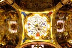 Koepel in kerk Royalty-vrije Stock Afbeelding