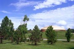 Koepel - Maharishi-Universiteit van Beheer Stock Foto