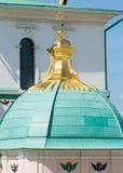 Koepel met een gouden ster in Klooster van Verrijzenis het Nieuwe Jeruzalem royalty-vrije stock foto's