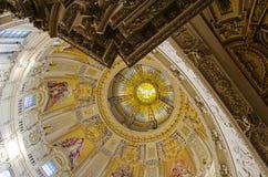Koepel van de Berlijn kathedraal Royalty-vrije Stock Foto's
