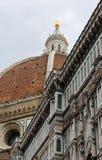 koepel van de Kathedraal door de architect Brunelleschi wordt ontworpen dat en stock foto's