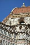 Koepel van de Kathedraal van Santa Maria del Fiore, Florence, Italië Stock Afbeeldingen