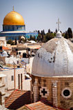 Koepel van de Rots Jeruzalem stock foto's