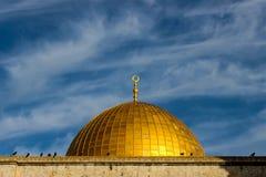 Koepel van de Rots in Jeruzalem stock afbeelding