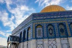 Koepel van de Rots in Jeruzalem royalty-vrije stock foto