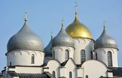 Koepel van de St Sofia kathedraal stock afbeeldingen