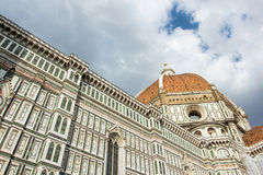 Koepel van Duomo royalty-vrije stock afbeelding