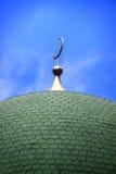 Koepel van een Moslimmoskee Royalty-vrije Stock Foto