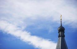 Koepel van een Orthodoxe kerk Royalty-vrije Stock Foto