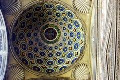 Koepel van een paleis in Florence Royalty-vrije Stock Afbeeldingen