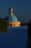 Koepel van Griekse Orthodoxe kerk royalty-vrije stock fotografie