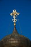 Koepel van Heilige George Cathedral Yuryev-Polsky, Vladimir-gebied, Rusland Royalty-vrije Stock Foto
