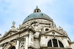 Koepel van Heilige Mary van Gezondheidskerk in Venetië, Italië royalty-vrije stock afbeeldingen