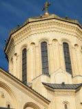 Koepel van kathedraal Sameba Stock Foto's