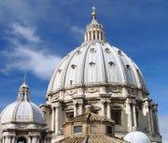 Koepel van Kathedraal St.Peter Royalty-vrije Stock Foto's