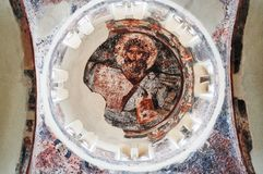 Koepel van Kerk van de Heilige Apostelen stock afbeeldingen