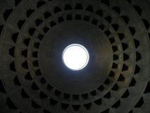 Koepel van Roman Pantheon-tempel Stock Afbeelding