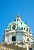 Koepel van St. Charles Kerk, Wenen, Oostenrijk Royalty-vrije Stock Afbeeldingen