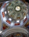 Koepel van St Rupert in Salzburg Royalty-vrije Stock Afbeeldingen