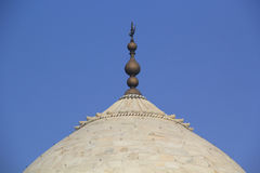 Koepel van Taj Mahal Stock Afbeelding