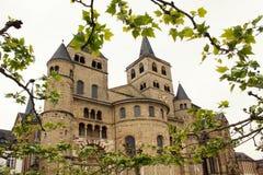 Koepel van Trier, de historische roman bouw Stock Foto's