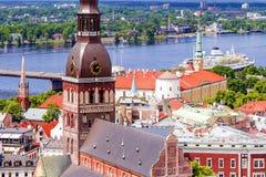 Koepelkathedraal in Riga, Letland stock afbeeldingen
