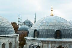 Koepels in Istanboel Stock Fotografie