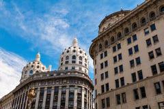 3 koepels van Buenos aires Stock Foto's