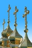 Koepels van kerken. Royalty-vrije Stock Fotografie