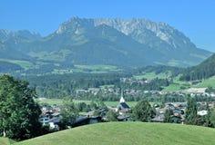 Koessen,Tirol,Alps,Austria Stock Photo