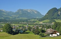 Koessen,Tirol,Austria Stock Photography