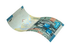 1 Koeweits dinarbankbiljet Stock Fotografie