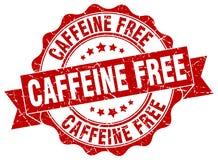 kofeina uwalnia fokę znaczek ilustracji