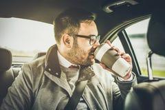 Koffein für klareren Verstand stockfoto
