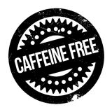 Koffein frigör stämpeln vektor illustrationer