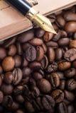 Koffeinanmerkungen Lizenzfreie Stockfotos