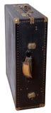 Koffer - garderobe Stock Afbeelding