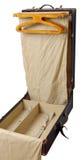 Koffer - garderobe Royalty-vrije Stock Afbeelding