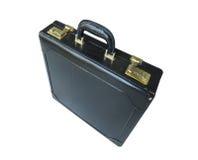 Koffer getrennt lizenzfreie stockfotografie
