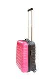 Koffer lokalisiert auf weißem Hintergrund Stockbilder