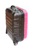 Koffer op witte achtergrond wordt geïsoleerd die Royalty-vrije Stock Fotografie