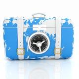 Koffer-sicher für Reise vektor abbildung