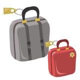 Koffer voor reis Royalty-vrije Stock Afbeelding