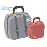 Koffer voor reis Royalty-vrije Stock Foto's