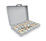 Kofferhoogtepunt van Geld vector illustratie