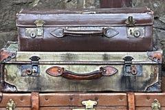 Koffers Royalty-vrije Stock Foto's