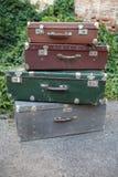 koffers stock foto