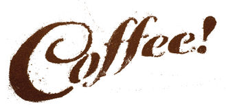 Koffie! Stock Afbeelding