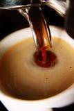 Koffie Americano Royalty-vrije Stock Afbeeldingen